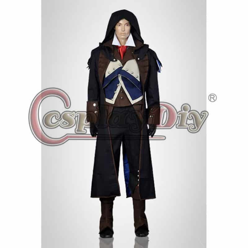 In Creed Halloween Costume | Assassins Creed Unity Arno Dorian Cosplay Costume Adult Men S