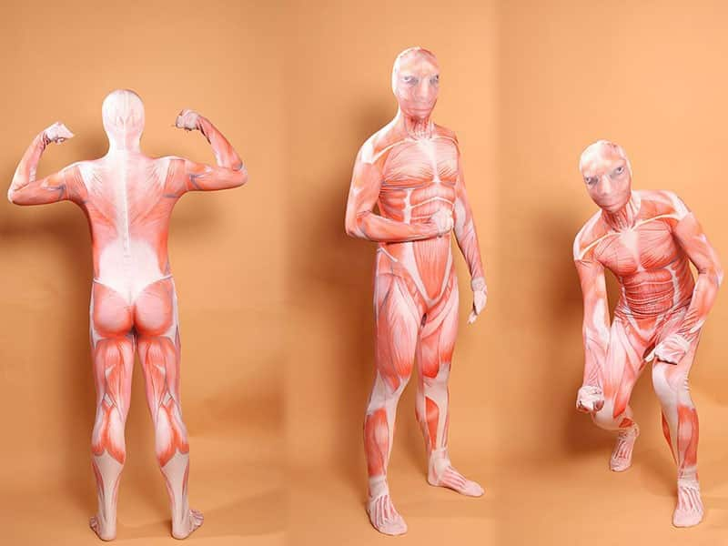 Halloween Costumes For Muscular Men Attack On Titan Cosplay Muscle