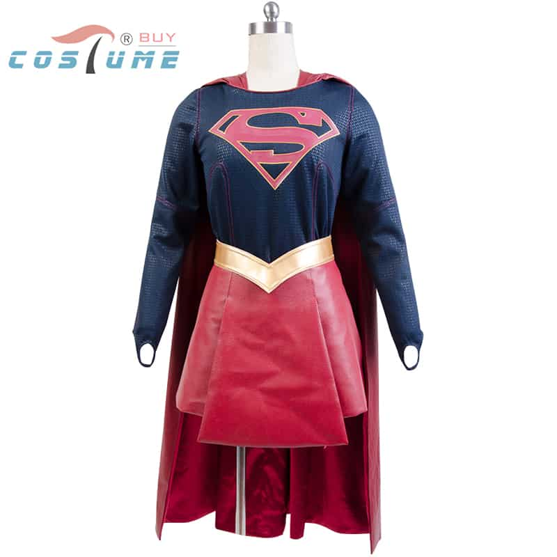 Adult Supergirl Costume Cloak Skirt Movie Halloween Carnival Cosplay Costumes For Women Custom Made Free Shipping  sc 1 st  Man Halloween Costumes & Adult Supergirl Costume Cloak Skirt Movie Halloween Carnival Cosplay ...