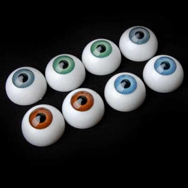 8 hollow eyeball mask halloween horror props costume