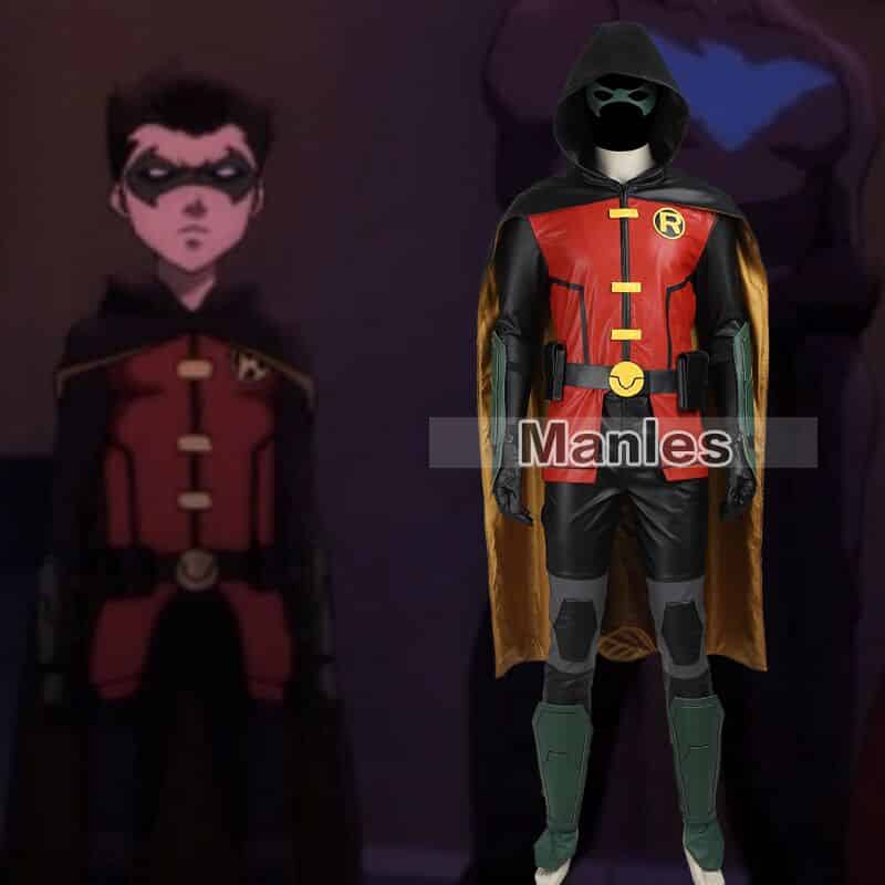 batman robin cosplay costume