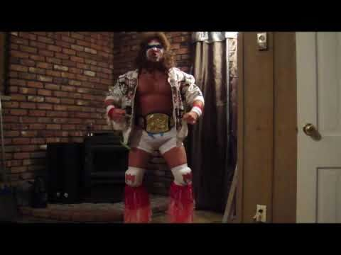 minus p in the best ultimate warrior halloween costume 2009 wwe wwf
